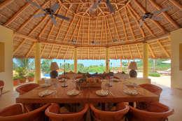 Casa Caracol: Comedor de estilo  por BR  ARQUITECTOS
