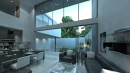 CASA PQ: Casas de estilo moderno por TaAG Arquitectura
