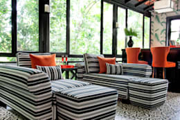 colonial Living room by Design Intervention