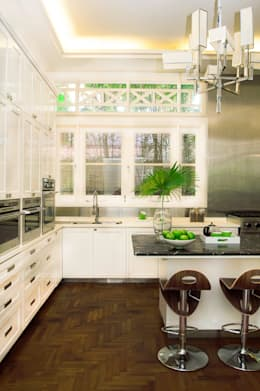 Design Intervention: kolonyal tarz tarz Mutfak
