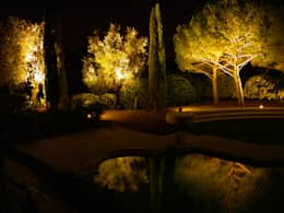 Jardines de estilo clásico por Cannata&Partners Lighting Design