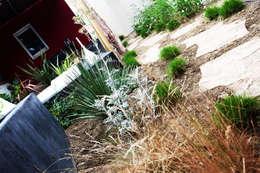 Un jardin greco-méditerranéen: Jardin de style de style eclectique par Art d'Esprit