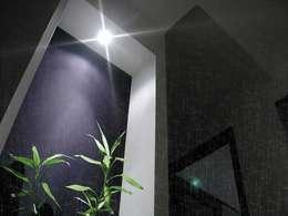rain: Case in stile in stile Minimalista di ecoArchitettare