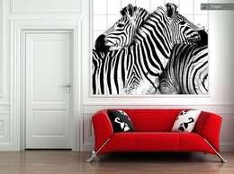 Dormitorios de estilo  por amazing print media