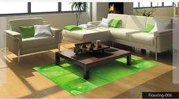 Digital Tiles Highliters: asian Bedroom by amazing print media