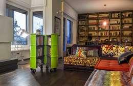 Balconies, verandas & terraces  by StudioDodici Architettura,  Design,  Interior