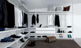 Cabine armadio: le più moderne sono a vista