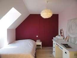 Dormitorios de estilo clásico por agence ine