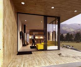 CREEL: HOTEL ECOTURISMO: Casas de estilo moderno por FACTOR: RECURSO