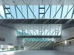 SALLE DE SPORT TRIPLE:  de style  par François MEYER ARCHITECTURE