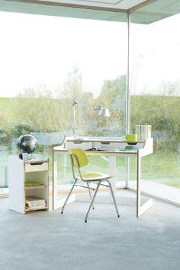 Plane Schreibtisch : minimalistische Arbeitszimmer von formstark