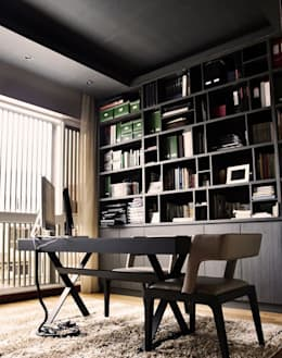 modern Study/office by Honeywerkz