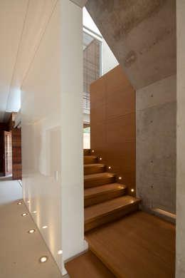الممر والمدخل تنفيذ Hernandez Silva Arquitectos