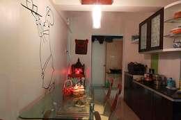 3BHK Interior work:   by Designaddict