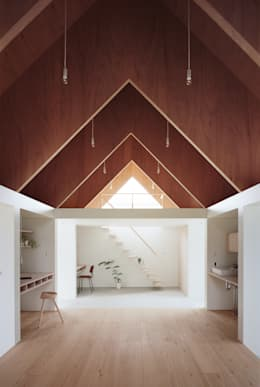 minimalistic Study/office by ma-style architects