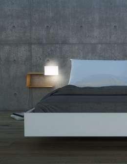 Ikki: minimalistische Schlafzimmer von GO4LIGHT