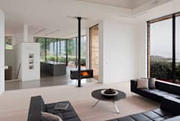 modern Living room by JAMIE FALLA ARCHITECTURE