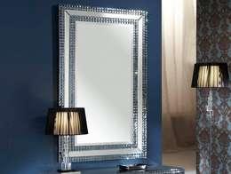 Espejo de Cristal Moderno Brooklyn: Vestidores de estilo moderno de Paco Escrivá Muebles
