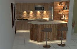 modern Kitchen by POISE