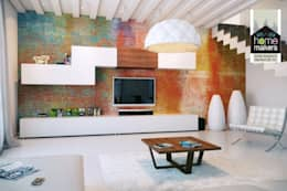 modern Living room by home makers interior designers & decorators pvt. ltd.