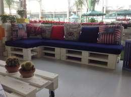 Balcon, Veranda & Terrasse de style de style eclectique par interiordave