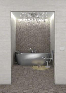 industrial Bathroom by Sánchez Plá