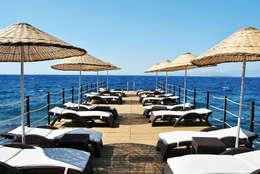 Estateinwest – Azure Villaları 4 Odalı Müstakil Villalar:  tarz Teras