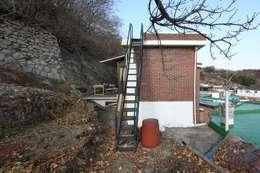 minimalistische Huizen door 무회건축연구소