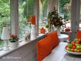 Projekty,  Balkon, weranda i taras zaprojektowane przez CDECO and co