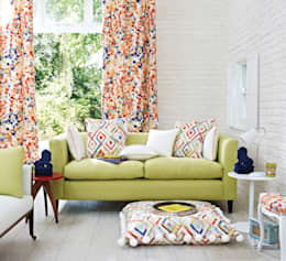 Prestigious Textiles: modern tarz Oturma Odası