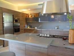 Projekty,  Kuchnia zaprojektowane przez ISLA GRUP