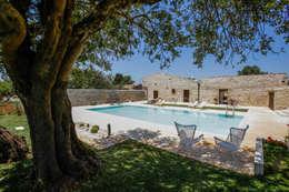 Jardines de estilo rural de Viviana Pitrolo architetto