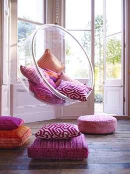Salon de style de style Méditerranéen par Prestigious Textiles