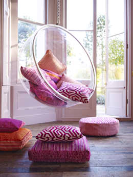 mediterranean Living room by Prestigious Textiles