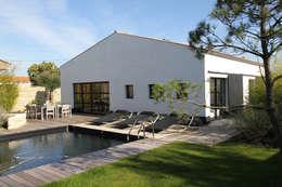 Vue extérieure: Maisons de style de style Industriel par Alizé Chauvet Architecte - Designer intérieur