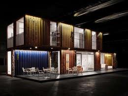 Green Frame House: Case in stile in stile Minimalista di AstoriDePonti Associati