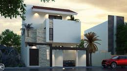 Casa Habitación:  de estilo  por Arki3d