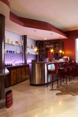 23 fant sticas ideas para tener tu propio minibar en casa for Disenos de bares de madera para casa