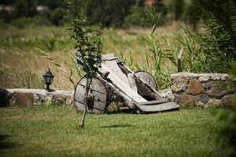 ARAL TATİLÇİFTLİĞİ – Genel Görünüm: modern tarz Bahçe