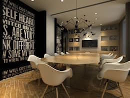 Conference Room:  Commercial Spaces by  Ashleys