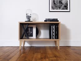 غرفة المعيشة تنفيذ Elsa Randé,  design artisanal de fabrication française