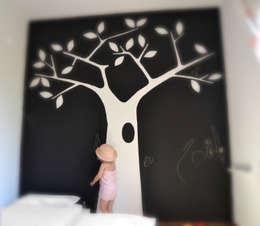 Room for a Dream: Camera da letto in stile in stile Scandinavo di Loop Landscape & Architecture Design
