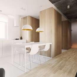 minimalistic Kitchen by 081 architekci