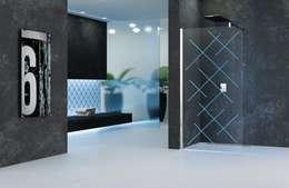 Kuadra: moderne Badkamer door Novellini