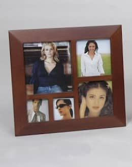 WOODEN PHOTO FRAME:  Household by Wooden Gift Company