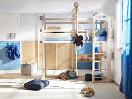 Projekty,  Pokój dziecięcy zaprojektowane przez WOODLAND Vertriebs GmbH