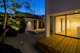 SUNOMATA: 武藤圭太郎建築設計事務所が手掛けたベランダです。