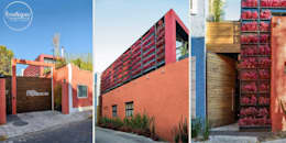 Projekty, nowoczesne Domy zaprojektowane przez Boutique de Arquitectura  (Sonotectura + Refaccionaria)
