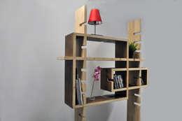 Etag' Aire: Salon de style de style Moderne par Benjamin Rousse Design
