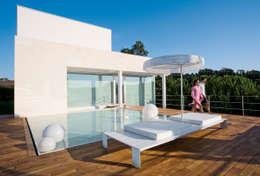 Ombrelloni da terrazzo, ecco i più moderni